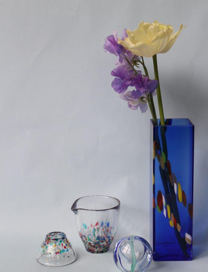 青森の自然をイメージしたハンドメイドガラス『津軽びいどろ』