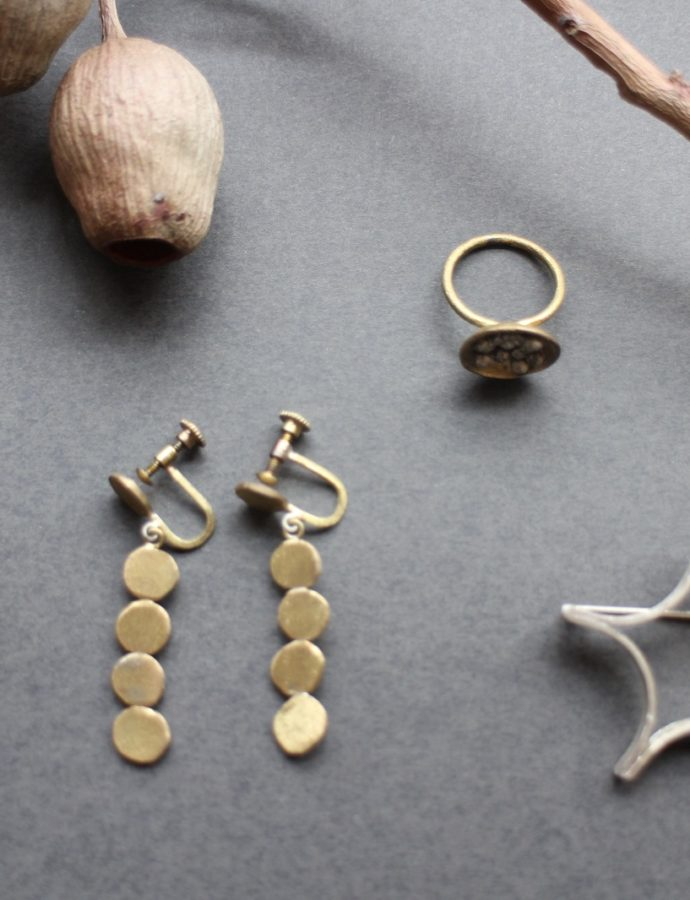 真鍮・シルバーアクセサリー『0202(オニオニ)』