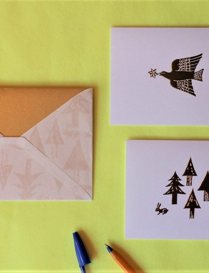 『nishi syuku』封筒&カードセット