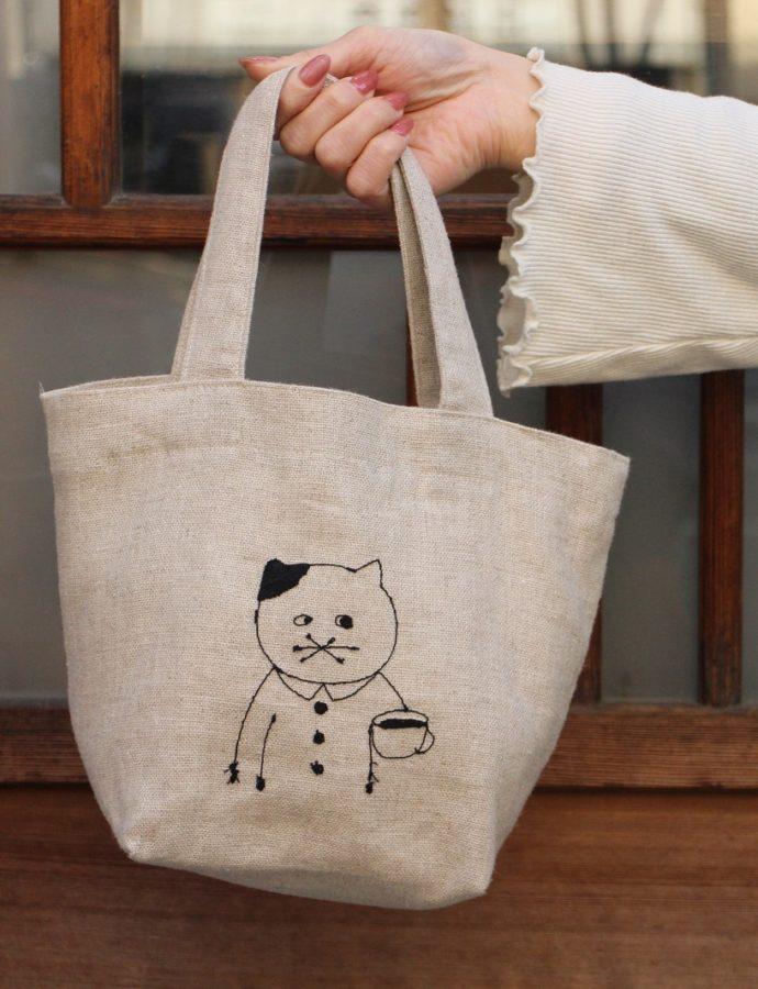 ミシン刺繍作家sennokoto『刺繍バッグ』