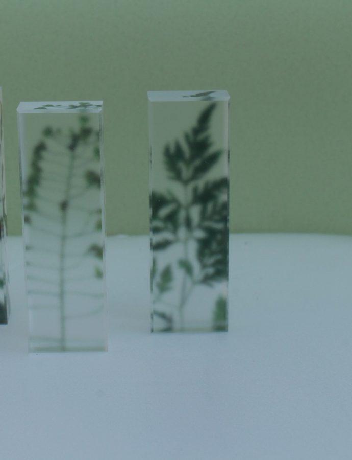 『toumei』植物柄の箸置き