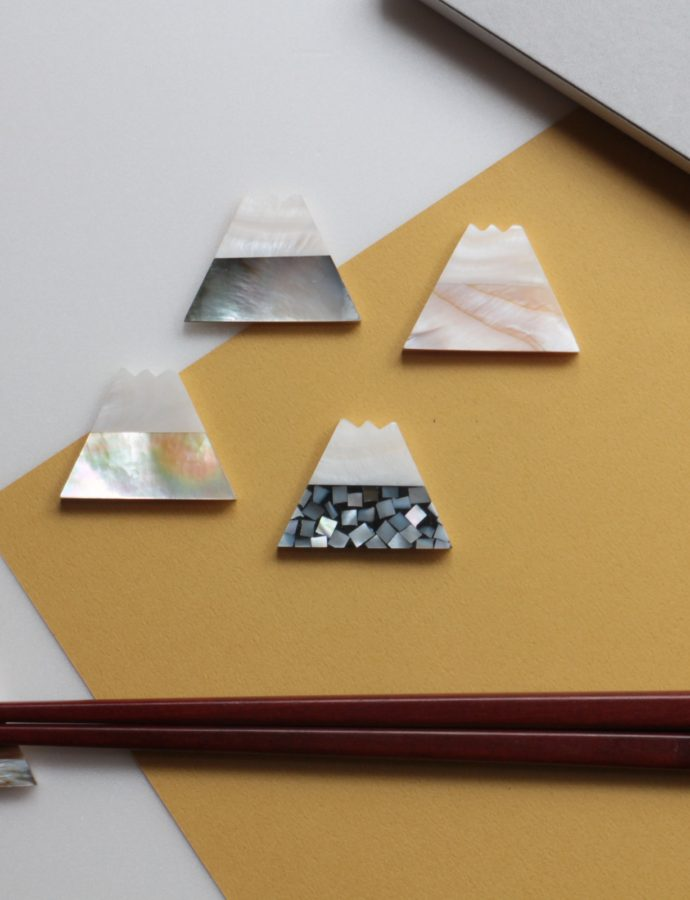 「富士山」の箸置き5個セット