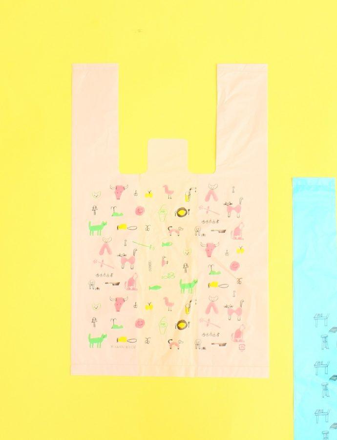 『トラネコボンボン』お使い袋