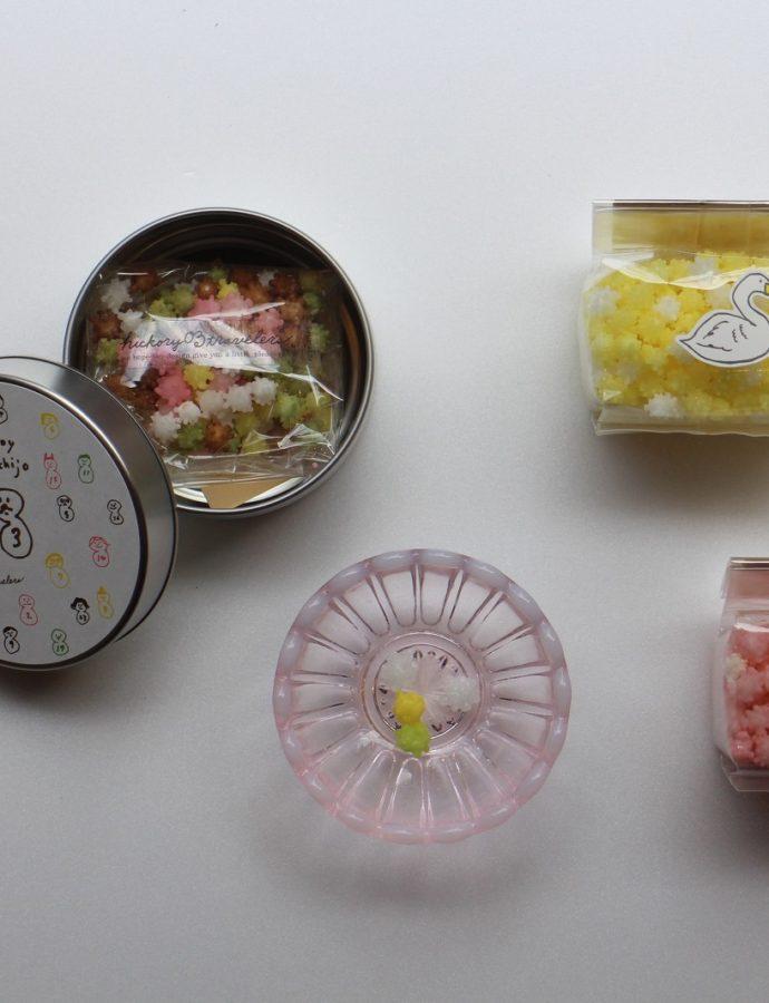新潟の伝統的なお菓子『浮き星』