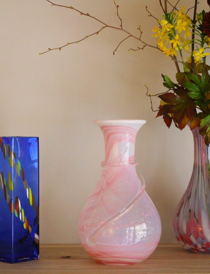 『津軽びいどろ』の花器