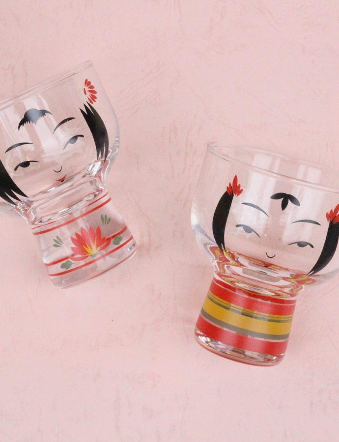 小鉢としても使える『こけしグラス』