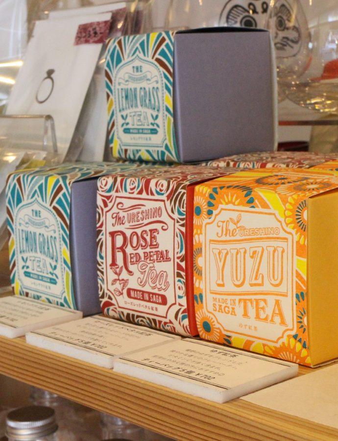 パッケージもかわいい嬉野茶葉の『紅茶』