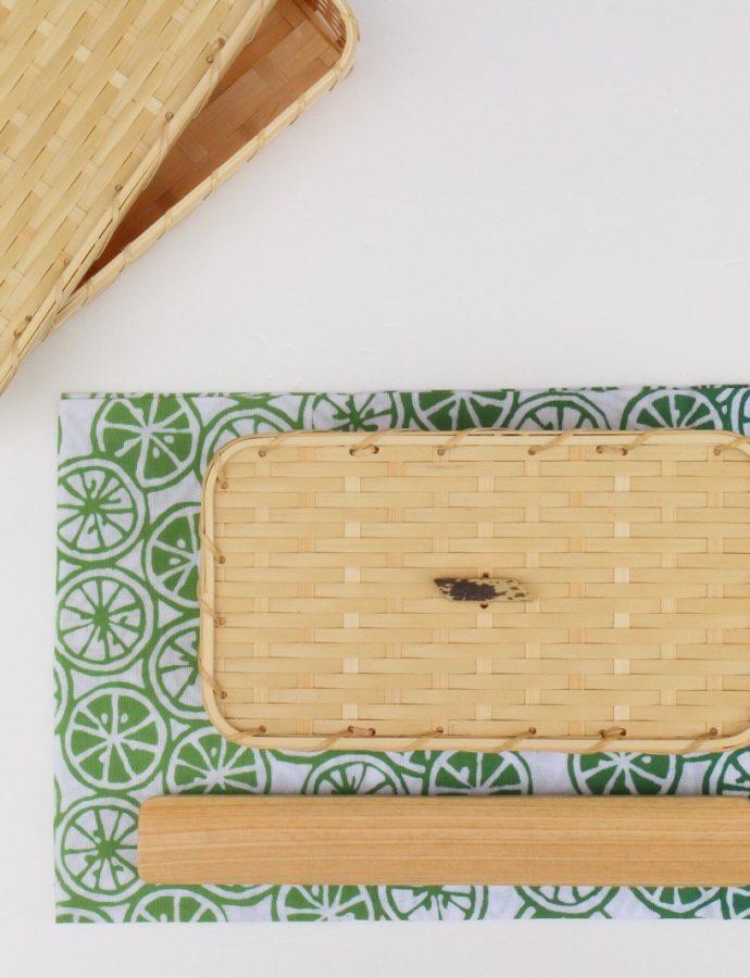 竹のお弁当箱