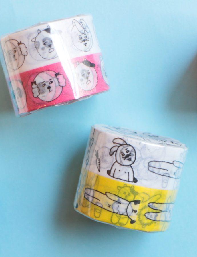 『菅原しおん』さんデザインのマスキングテープのご紹介♪