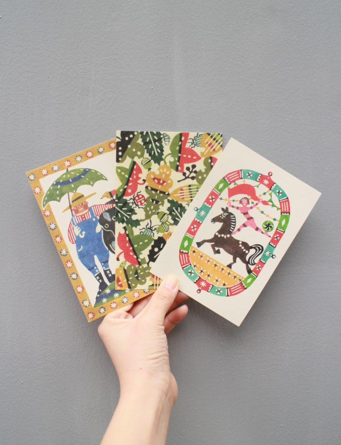 『kata kata』さんのポストカードのご紹介^^