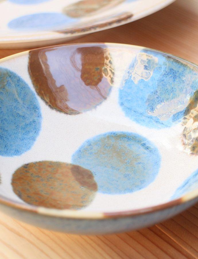 【美濃焼】のお皿並んでます