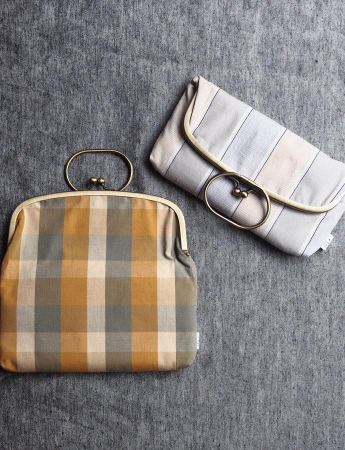 コーディネートのアクセントに、伊勢木綿の鞄はいかがですか?
