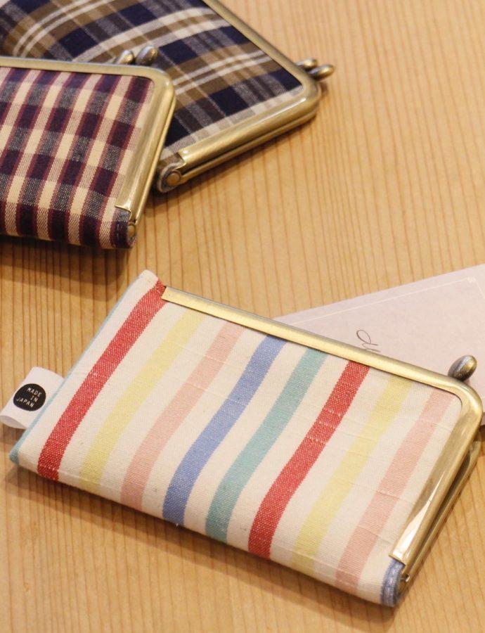 がま口のカードケースでお財布の中をすっきりしませんか?